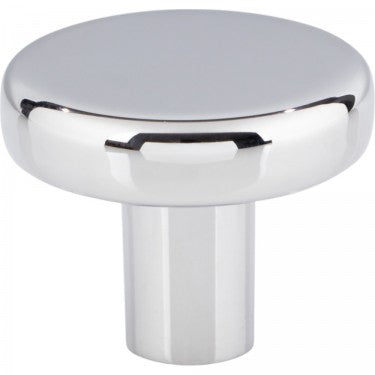 "Polished Chrome ""Charlie"" Drawer Pulls and Cabinet Knobs"