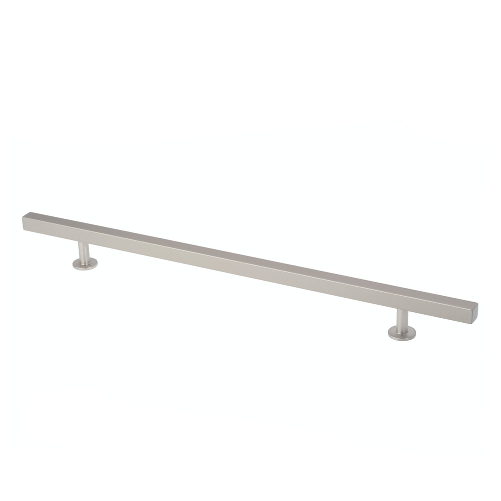 "Lew's Hardware Nickel 11-108 Bar Series Handle, 10"" Centers, 14"" Length"