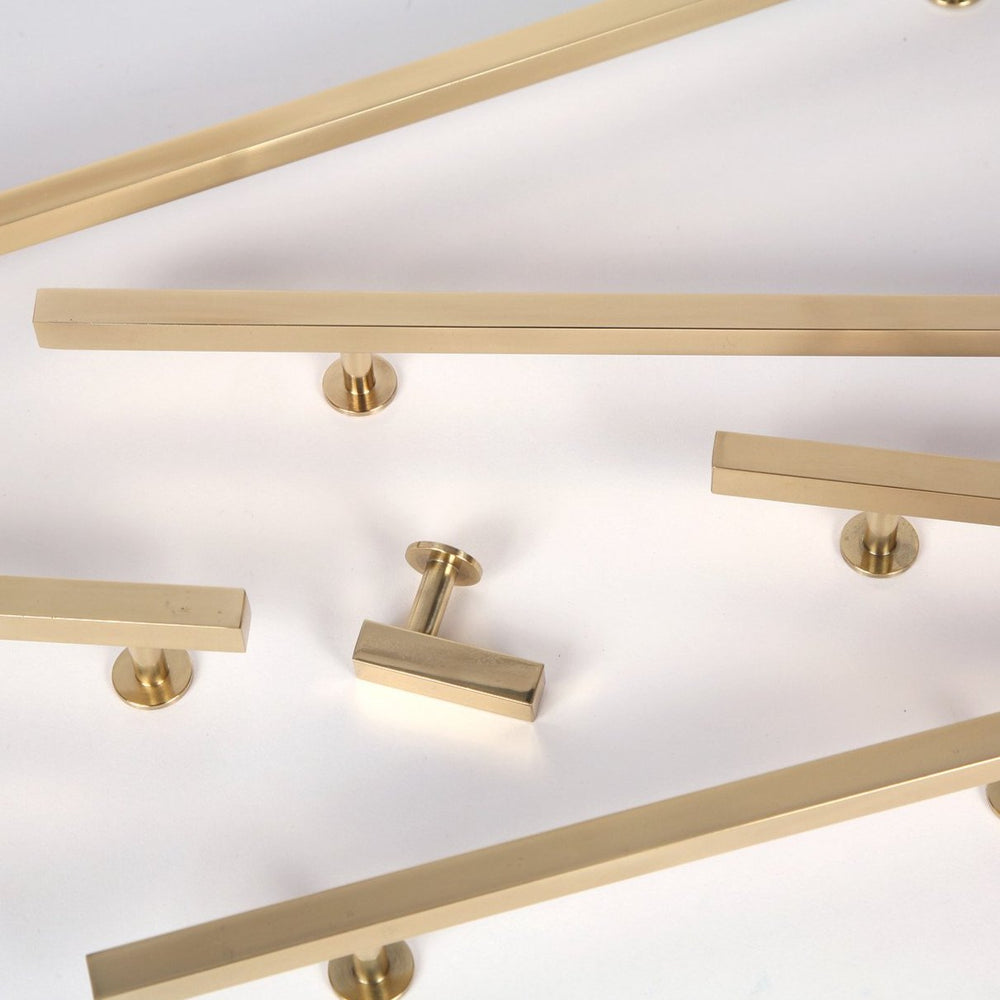 Lew's Hardware Polished Brass Bar Series