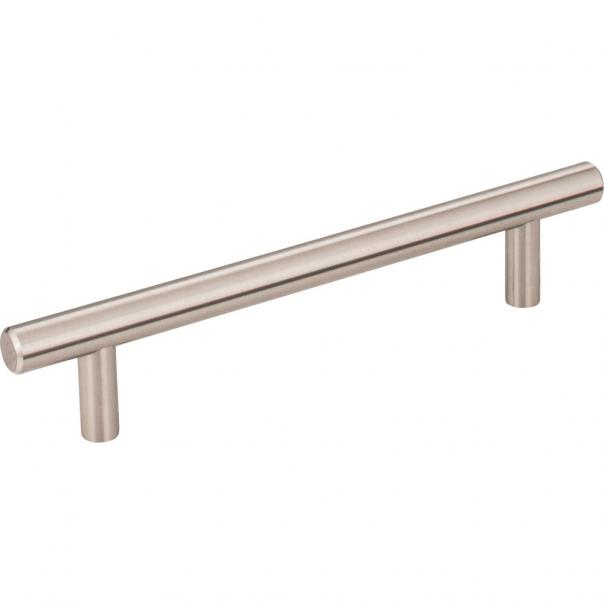 "Satin Nickel ""Dash"" T-Bar Round Knob and Drawer Pulls"