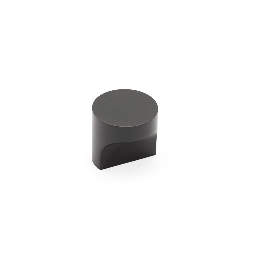 "Matte Black ""Neal"" Cabinet Knobs and Pulls Cabinet Hardware - Brass Cabinet Hardware"