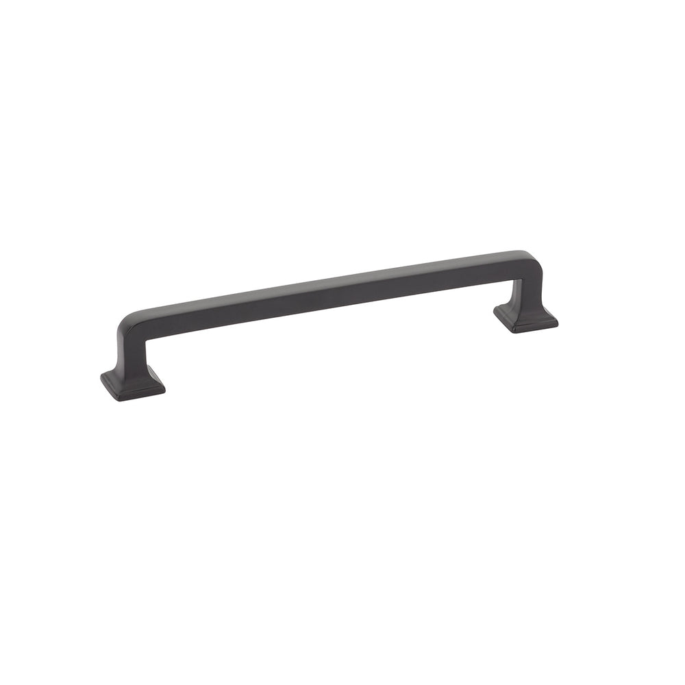 "Black Cabinet ""Menlo Park"" Drawer Pulls Kitchen Drawer Handles - Brass Cabinet Hardware"