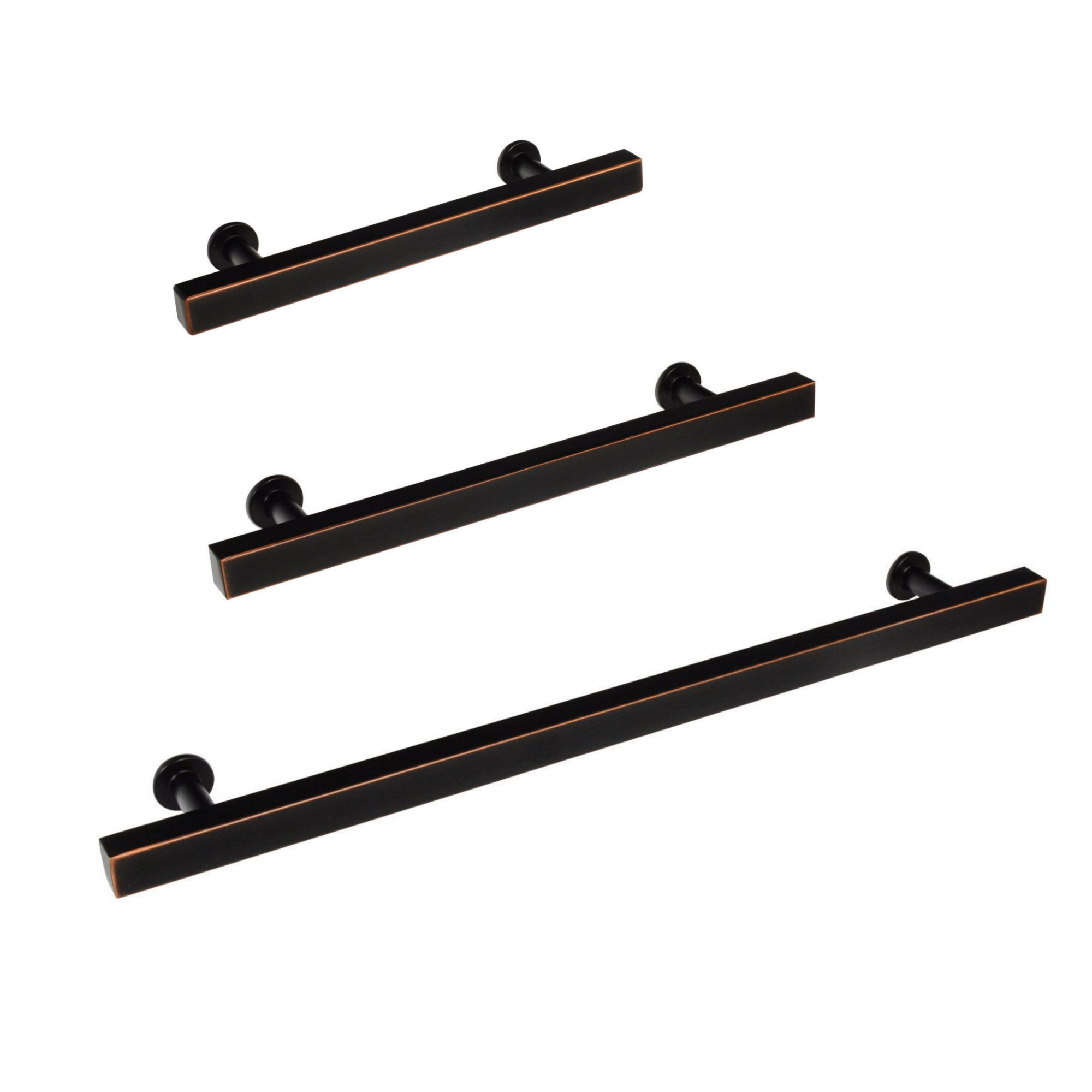 European T Bar Oil Rubbed Bronze Drawer Pulls Forge Hardware Studio