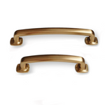 "Champagne Bronze ""Foundry"" Drawer Pulls - Cabinet Hardware"