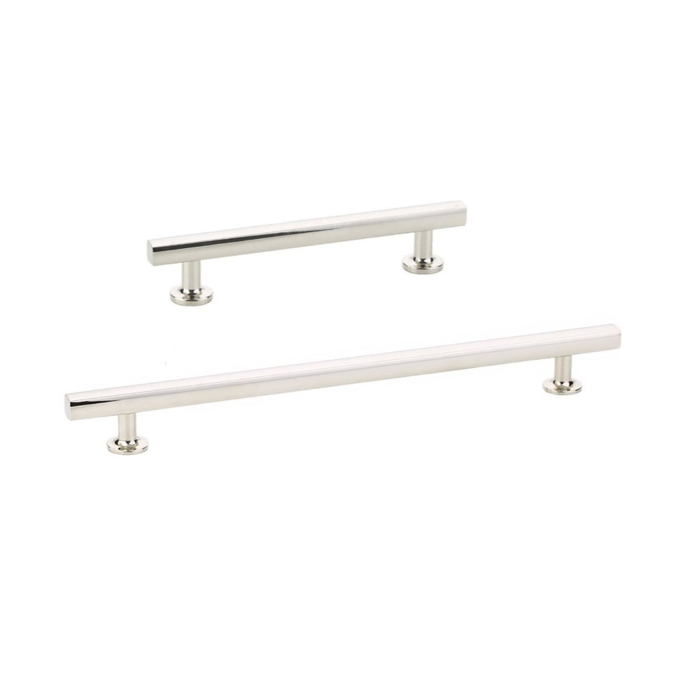 Freestone T-Bar Drawer Pulls in Polished Nickel