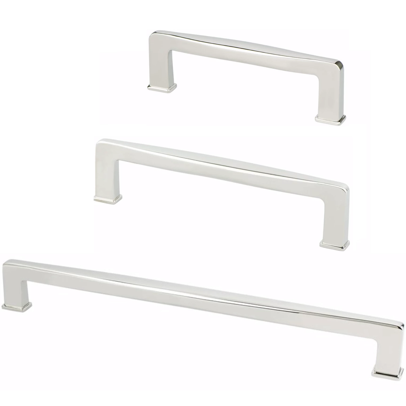 Kelly No 1 Polished Nickel Cabinet Drawer Pulls Kitchen Drawer Handl Forge Hardware Studio