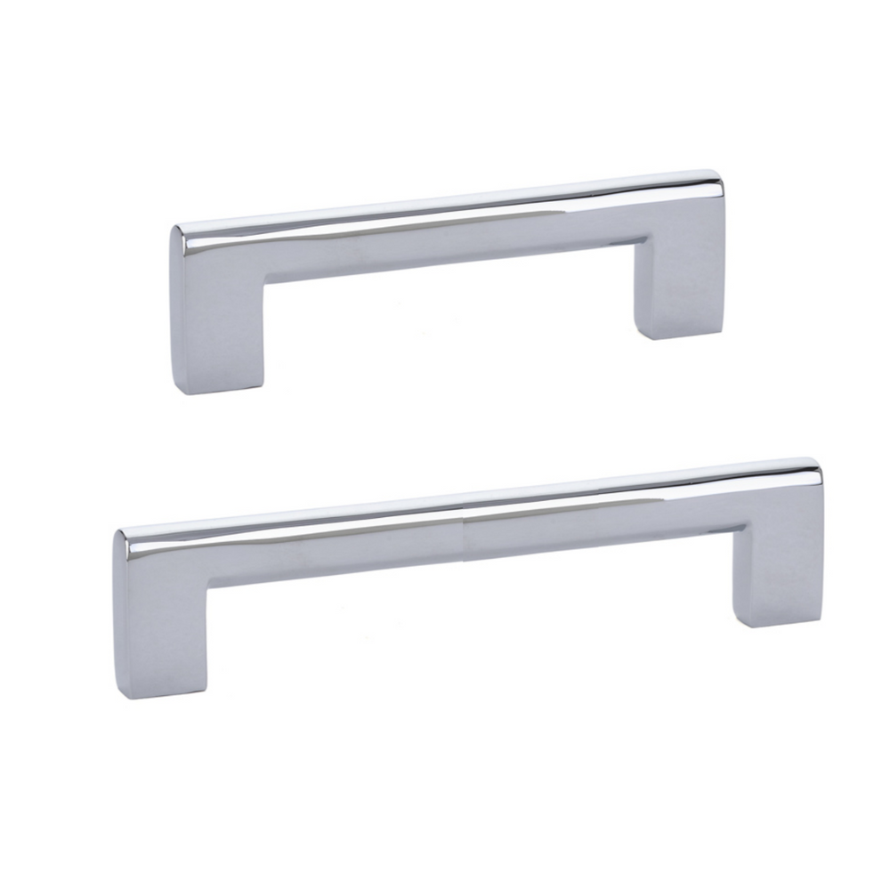 Luxe Drawer Pulls in Polished Chrome