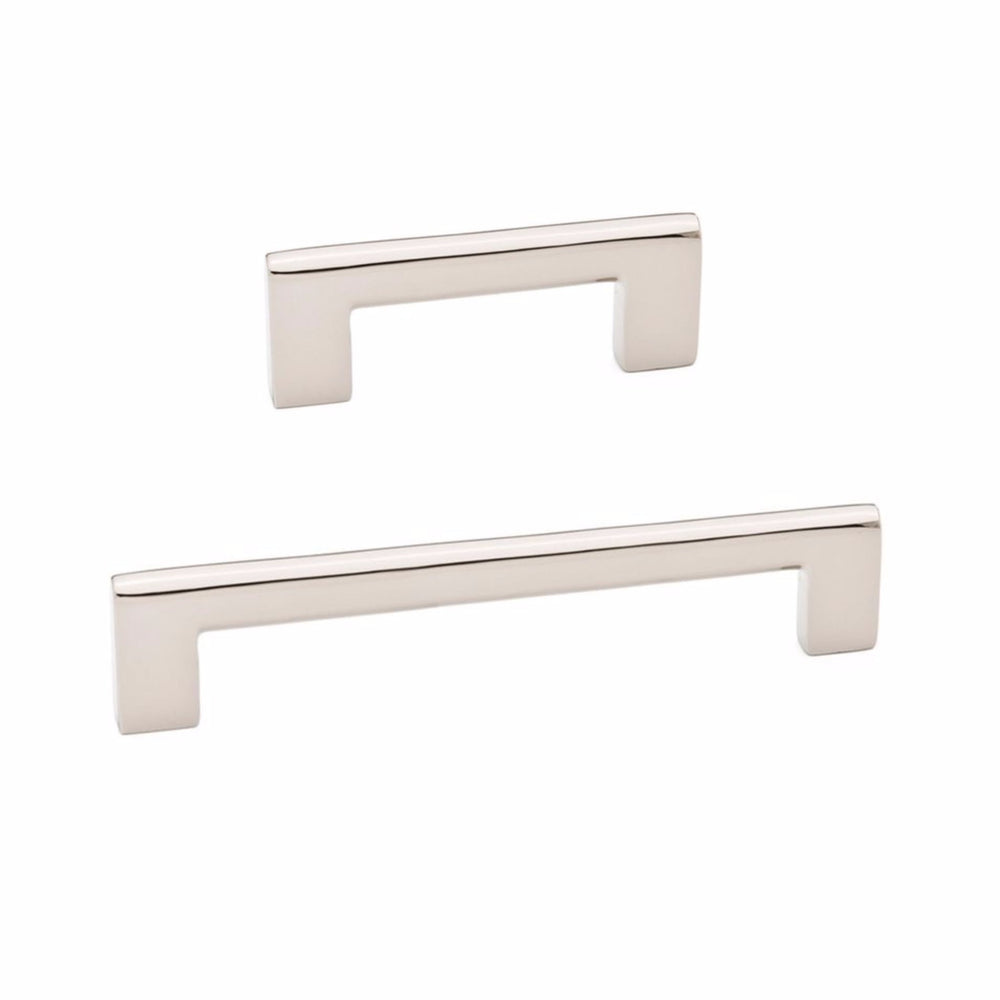 Luxe Polished Nickel Cabinet Drawer Pulls