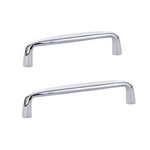 Omni Drawer Pulls in Polished Chrome - Kitchen Cabinet Hardware