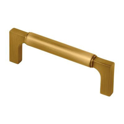 "Paris - 3-3/4"" Drawer Pull Handle in Brass - Brass Cabinet Hardware"