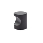 Luxe Whistle Cabinet Knob in Matte Black - Brass Cabinet Hardware