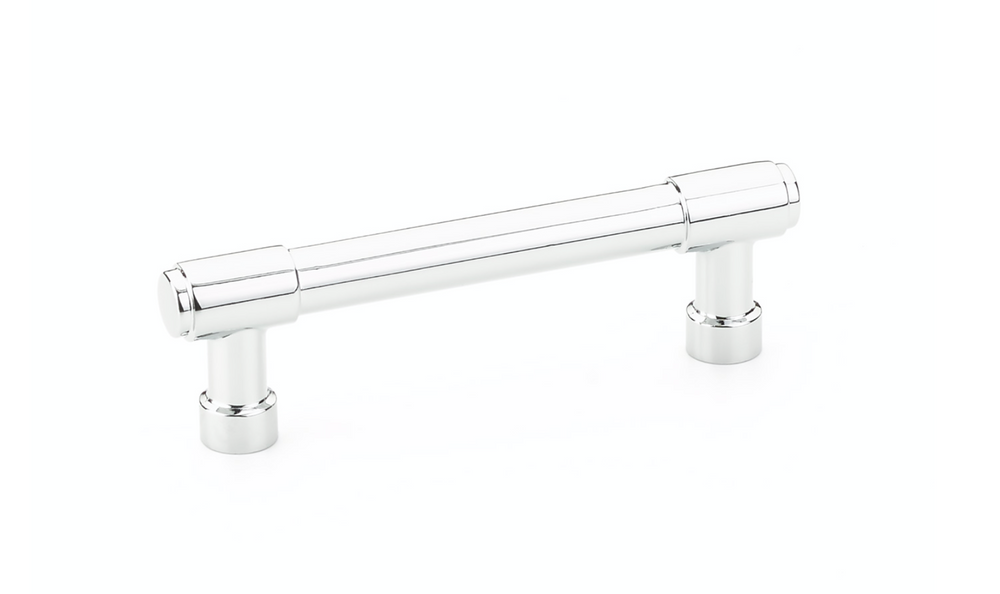 Industrial Modern Drawer Pulls in Polished Chrome