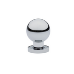 Luxe Contemporary Polished Chrome Round Ball Knob