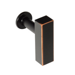European T-Bar Bronze Cabinet Knob