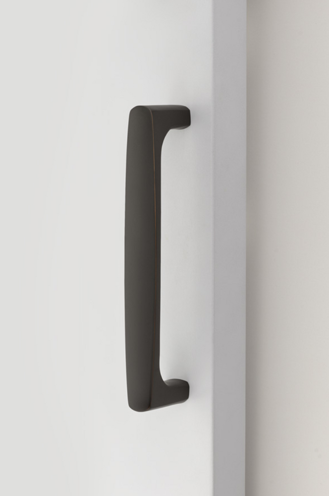 Barn Door Pull in Flat Black Handle Hardware for Interior Doors