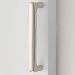Barn Door Pull in Polished Nickel Handle Hardware for Interior Doors