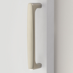 Barn Door Pull in Satin Nickel Handle Hardware for Interior Doors