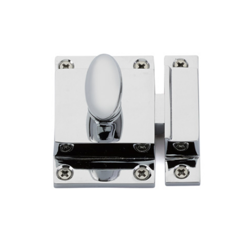 Luxe Polished Chrome Cabinet Latch