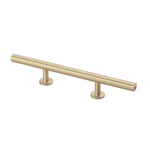 "Lew's Hardware 31-113 Bar Series Round Bar Handle, 3"" Centers, 7"" Length"