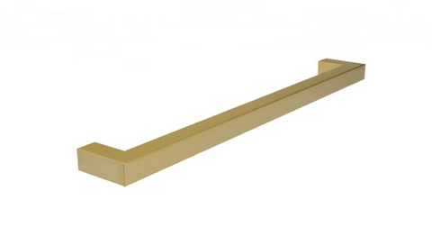 "Brass ""Corner"" Drawer Pull -  11-5/16"" Drawer Pull - Cabinet Handle"