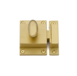 Luxe Satin Brass Cabinet Latch