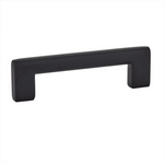 "Black ""Luxe"" Drawer Handles and Cabinet Knobs - Brass Cabinet Hardware"