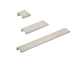 "Satin Nickel ""Dina"" Tab Finger Drawer Pulls"