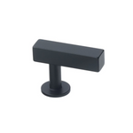 Lew's Hardware Matte Black Bar Series 51-101 Bar Knob