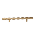 Lew's Hardware Brushed Brass Barrel Series - Brass Cabinet Hardware