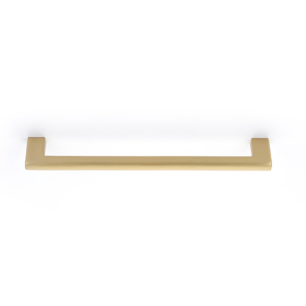 Luxe Brass Fridge Pull Appliance Handle in Satin Brass