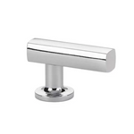 Freestone Cabinet T-Knob in Polished Chrome-Cabinet Hardware