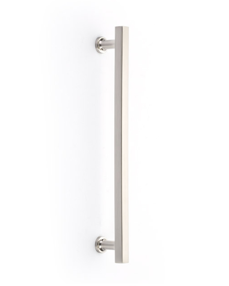 Freestone Appliance Handle in Satin Nickel - Brass Cabinet Hardware