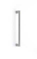Luxe Brass Fridge Pull Appliance Handle in Satin Nickel