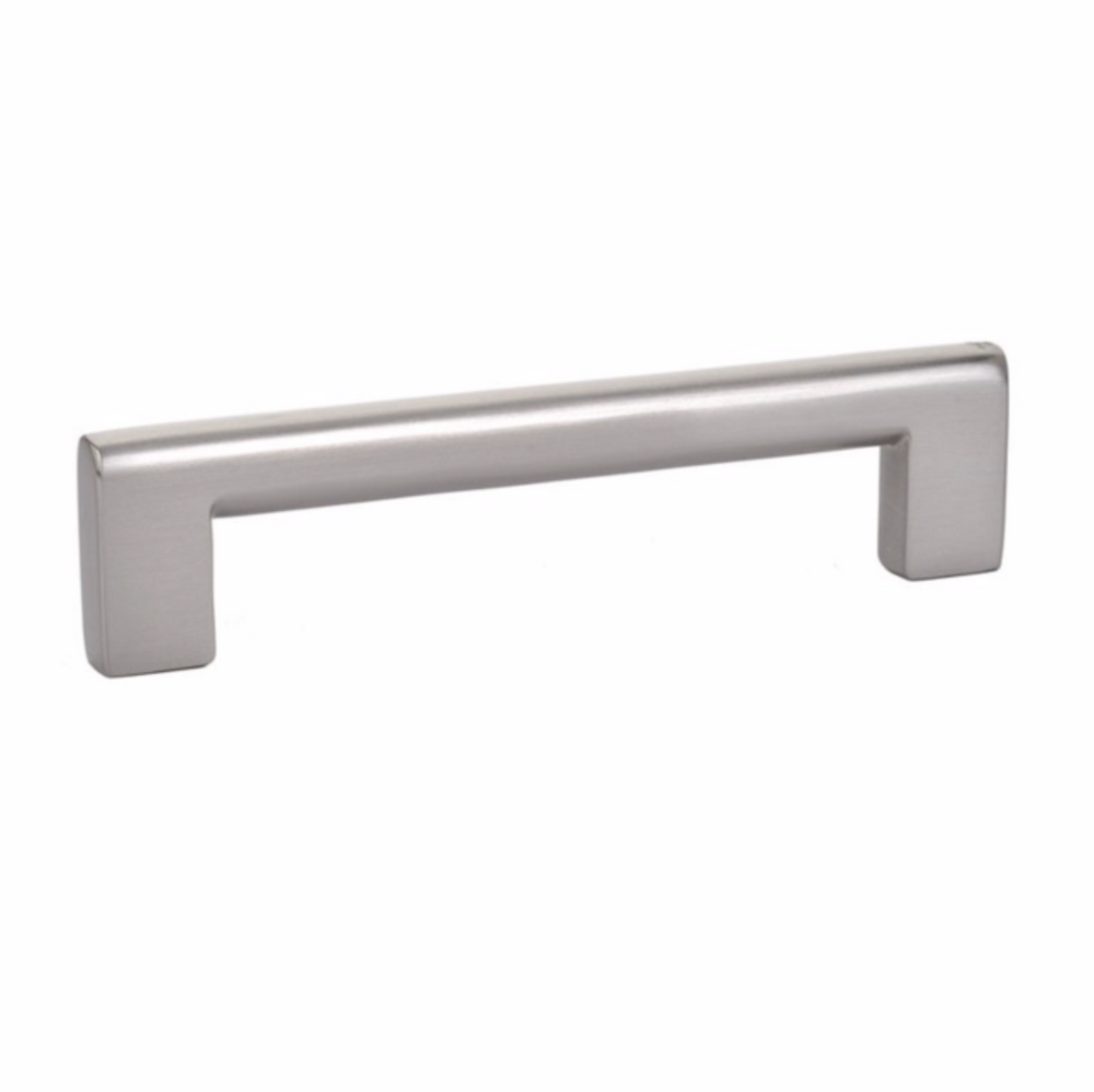 Luxe Satin Nickel Cabinet Drawer Pulls - Brass Cabinet Hardware