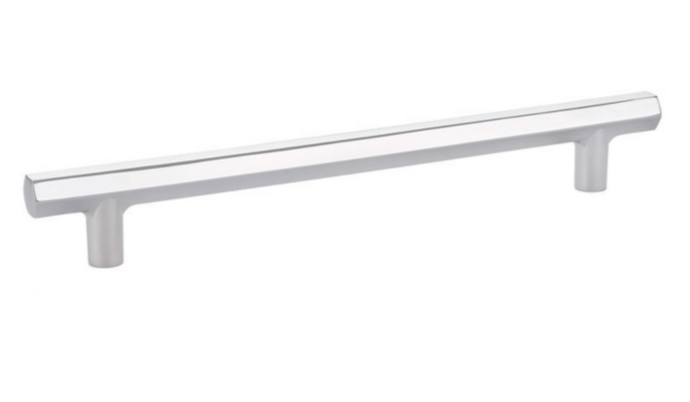 """Mod Hex"" T-Bar Refrigerator Handle in Polished Chrome"