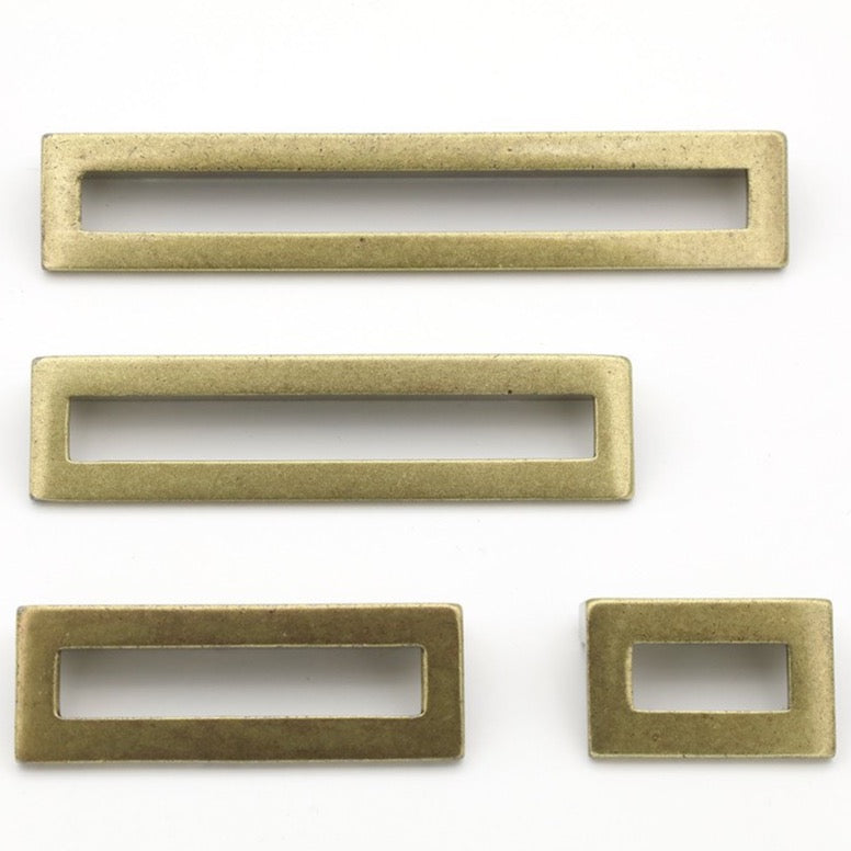 Linea Antique Drawer Pulls - Cabinet Handles