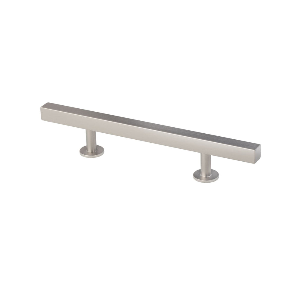 "Lew's Hardware Nickel 11-103 Bar Pull, 3"" or 3-3/4"" Centers, 7"" Length"