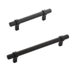 "Matte Black ""Groove"" Drawer Pulls"