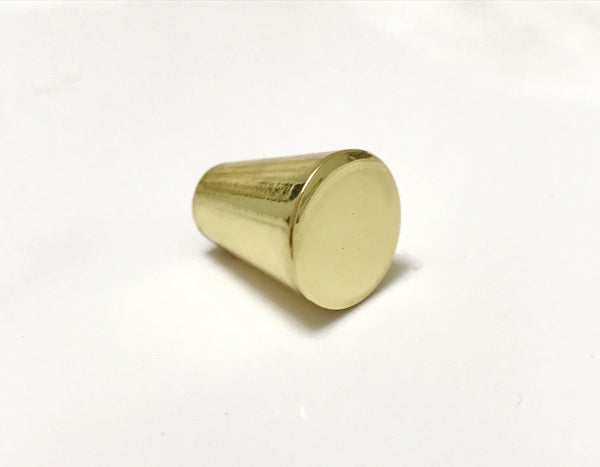 Peggy Polished Brass Cabinet Knob Drawer Pull - Brass Cabinet Hardware