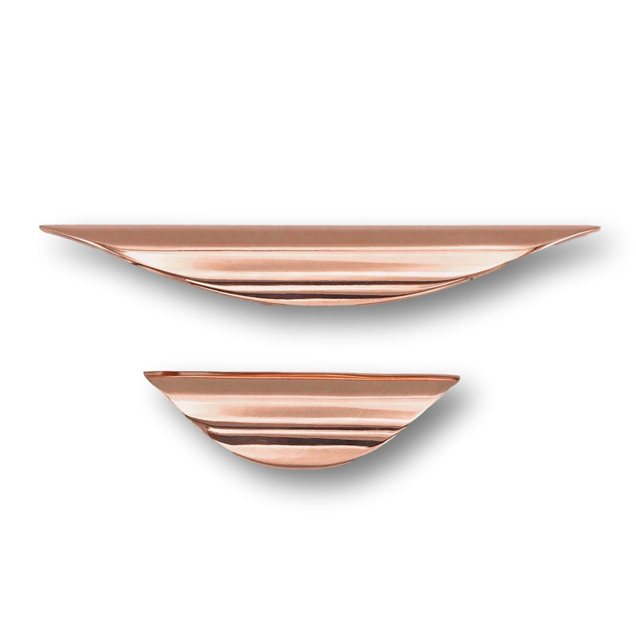 Kitchen Door Handles-copper hardware-copper Copper and Chrome Pull handle Kitchen Cabinet Pulls Cabinet Hardware Drawer Pulls