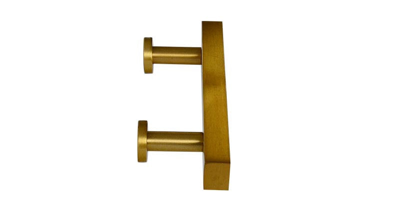 European T-Bar Brass Knobs and Drawer Pulls - Brass Cabinet Hardware