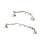 Kelly No.2 Cabinet Drawer Pulls in Brushed Nickel