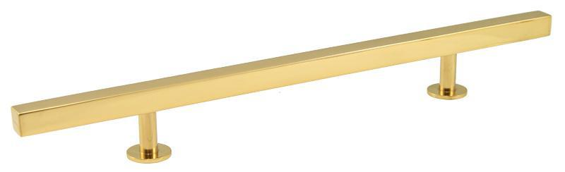 "Lew's Hardware Bar Series 14"" Appliance Pull - 41-107, Polished Brass - Brass Cabinet Hardware"