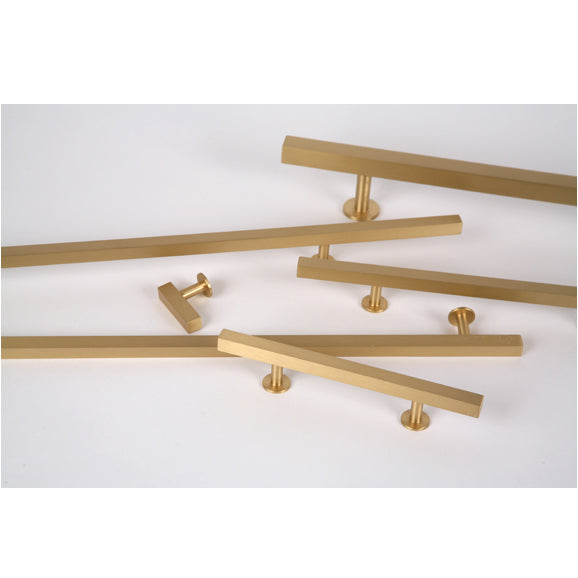 "Lew's Hardware 31-106 Brass, 16"" or 20"" Centers Adjustable, 24"" Length - Brass Cabinet Hardware"