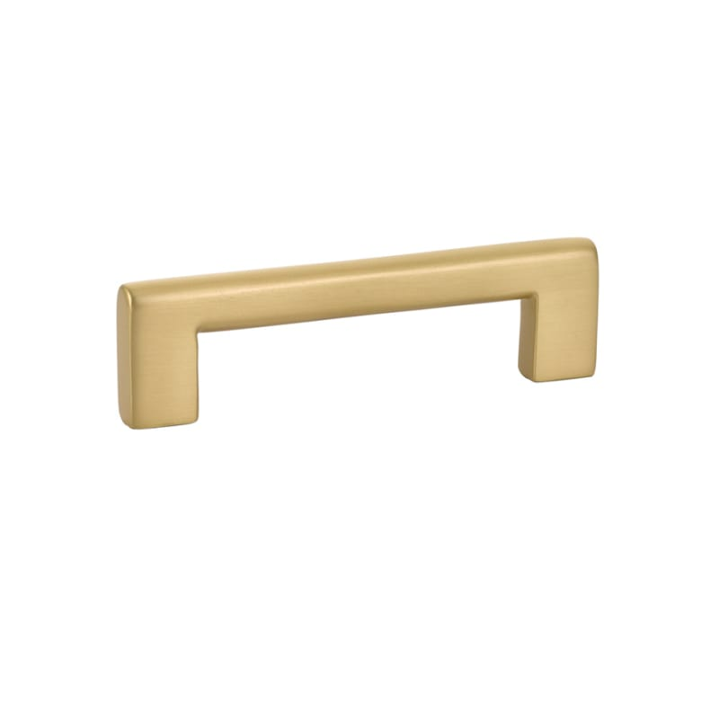 Luxe Brass Cabinet Pulls In Satin Brass Forge Hardware