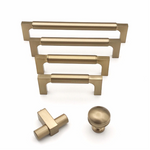 Champagne Bronze Drawer Pulls and Knob
