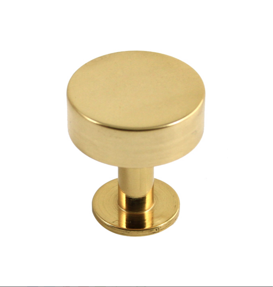 Lew's Hardware Polished Brass Bar Series - Brass Cabinet Hardware