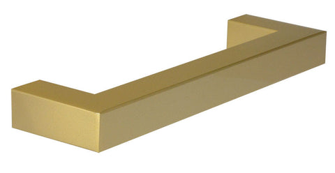 "Brass ""Corner"" Drawer Pull - 5"" Drawer Pull - Cabinet Handle"