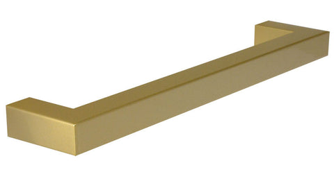 "Brass ""Corner"" Drawer Pull -  7-9/16"" Drawer Pull - Cabinet Handle"