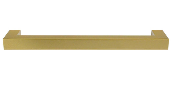 "Drawer Pull ""Corner"" in Brass -  11-5/16"" Drawer Pull - Cabinet Handle"